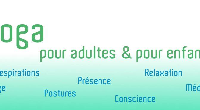 Nouvelle activité : atelier yoga enfants 6-11 ans le mercredi